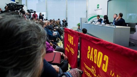 Milano, la procura apre un fascicolo sui lavoratori dell'ex Alfa di Arese