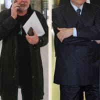 Milano, la 'carrambata' mancata tra Silvio Berlusconi e Lele Mora al processo contro Fede