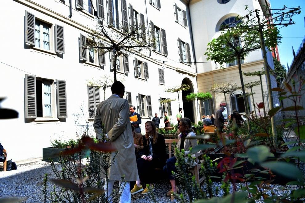 Milano, il nuovo giardino di Palazzo Reale: lo firma il 'papà' delle palme e banani in piazza Duomo
