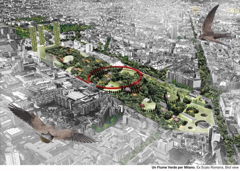 Milano, sfida a colpi di masterplan: cinque progetti per gli scali ferroviari dismessi