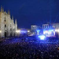 Milano, Gabbani star del concertone