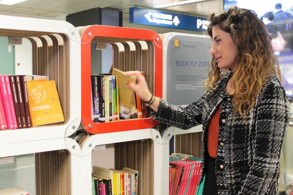 Tempo di libri a Milano, il book-crossing sbarca a Linate e Malpensa