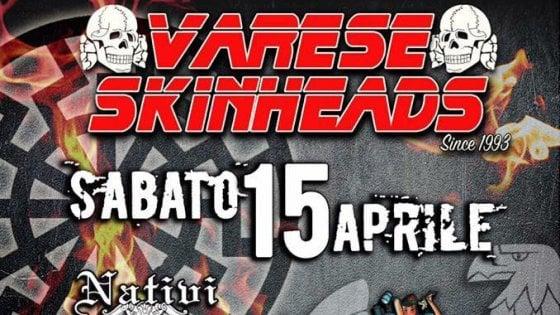 Compleanno di Hitler, a Varese raduno dell'estrema destra per il concerto delle band neonaziste
