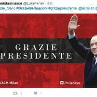 Milan ai cinesi, il saluto dei tifosi sui social: