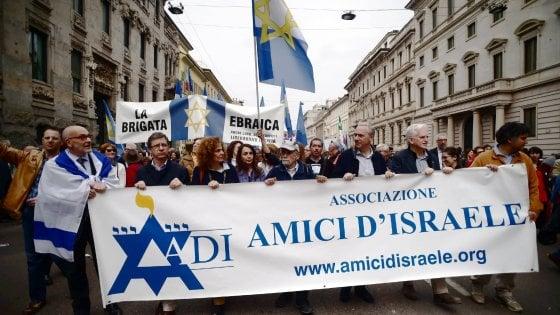 Milano, per il corteo del 25 Aprile cordone di protezione alla Brigata Ebraica: attese contestazioni