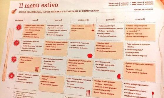 Milano, orzotto biologico e insalata di merluzzo: arriva il menu estivo nelle mense scolastiche
