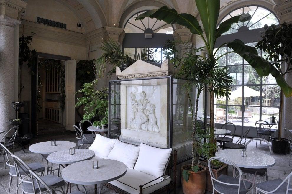 Milano, la nuova caffetteria della Gam nel giardino d'inverno della Villa Reale