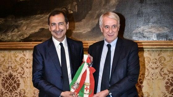 """Milano, Pisapia sul suo successore Sala: """"Siamo diversi, io di sinistra, lui di centrosinistra"""""""