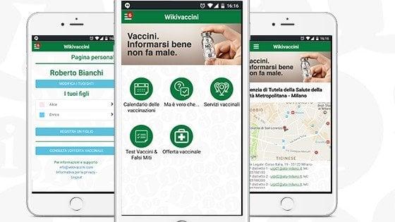 Wikivaccini, test e falsi miti: la Regione Lombardia lancia la app per i genitori