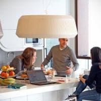 Milano, vietato andare in ufficio: col pc a casa, al bar al parco per la