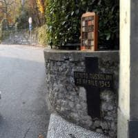 Como, un raduno e un necrologio per l'anniversario della morte di Mussolini.