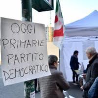 """Primarie Pd, alle 17 a Milano e provincia votano oltre 63mila persone. I dem: """"Fiduciosi..."""