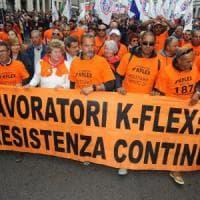 Primo Maggio, Camusso ai licenziati K-Flex: