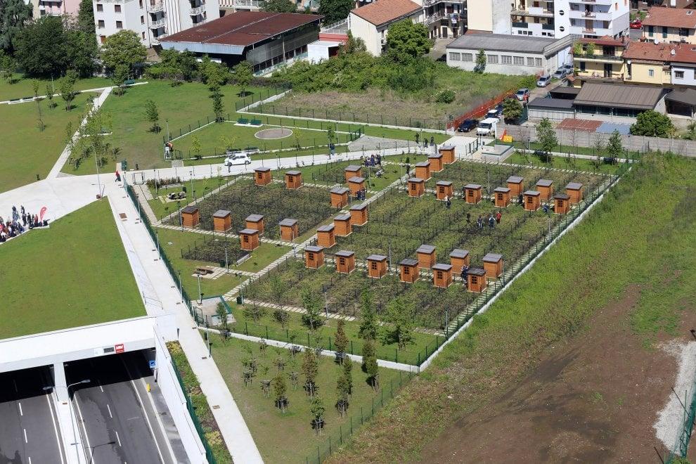 Ecco il parco Zara-Expo, 55 nuovi orti urbani nascono a Milano