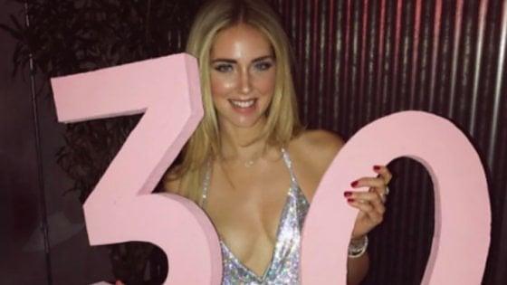 Chiara Ferragni pronta a festeggiare 30 anni... da sex symbol