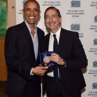 Obama ora è un milanese, Sala gli consegna le chiavi della città