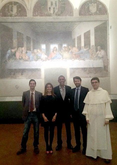 Obama a Milano, visita al Cenacolo con Franceschini: ''E' innamorato dell'Italia''
