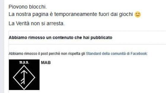 Facebook stoppa il discorso di Hitler, chiuso il profilo del gruppo neonazista di Bergamo