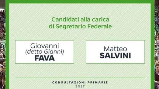 """Primarie Lega, Salvini centra l'obiettivo: con l'82,7% resta segretario. L'attacco di Bossi: """"Con lui la Lega è finita"""""""