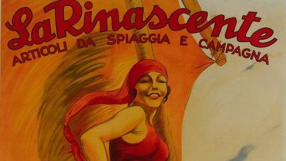 Milano: due mostre celebrano i 100 anni della Rinascente, i magazzini battezzati da D'Annunzio