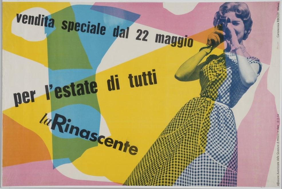 Milano, la Rinascente compie 100 anni: le pubblicità d'artista che l'hanno resa grande