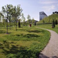 Milano Portello, anfiteatro all'aperto e campi da bocce: l'ex Alfa Romeo ora è un magnifico parco