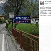 """Lombardia e Trentino, strade """"speciali"""" come le Regioni: l'asfalto di confine è manifesto politico"""