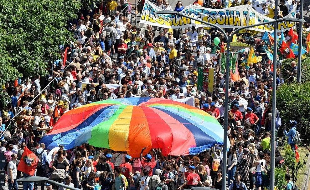 La marcia antirazzista di Milano: il fotoracconto