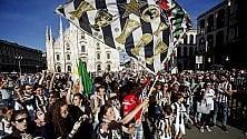 La festa juventina  arriva in piazza Duomo