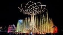 Concerti, gare di running  e show dell'Albero della  vita: si riaccende l'Expo