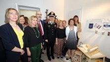 Inaugurata l'aula protetta dei carabinieri per le testimonianze di donne e bambini