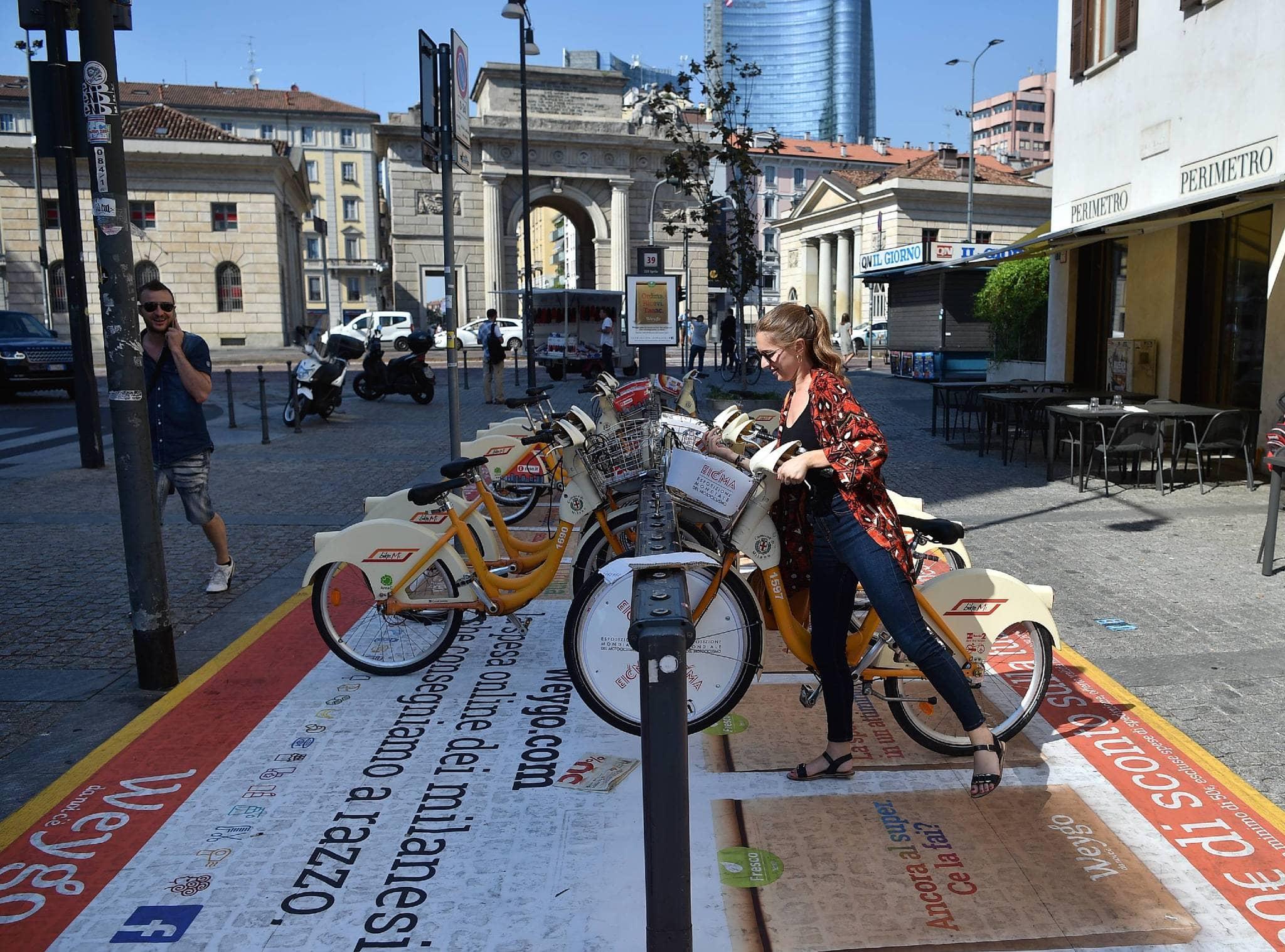 Milano allo studio il bike sharing sul modello shanghai for Mobile milano bike sharing