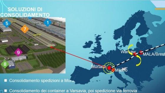 Quel treno per Chengdu, dalla Lombardia al Sichuan in 18 giorni : via ai primi convogli merci