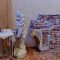 Milano, il mistero di villa Scheibler: un anonimo restituisce la testa di una statua scomparsa 50 anni fa