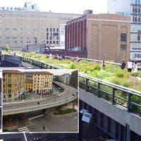 Milano dice addio ai cavalcavia, giù quello del Corvetto aspettando l'High Line