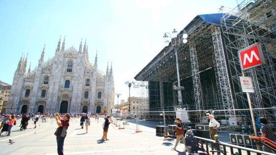 Sicurezza, la Scala e il maxi concerto in Duomo: ''Non portate gli zaini''