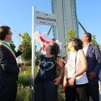 Milano Citylife,  musica e ricordi per la via intitolata a Demetrio Stratos