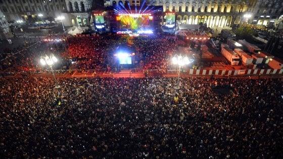 """Sicurezza Milano, al concerto di Radio Italia limite 23.500 spettatori. L'assessora: """"Gli altri a casa"""". Erano attesi in 100mila"""