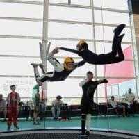 Milano, la sfida di Andrea, paraplegico: ''Voglio diventare paracadutista''