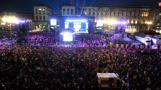 Radio Italia live, massimo 23.500 in piazza Duomo, no maxi-schermi