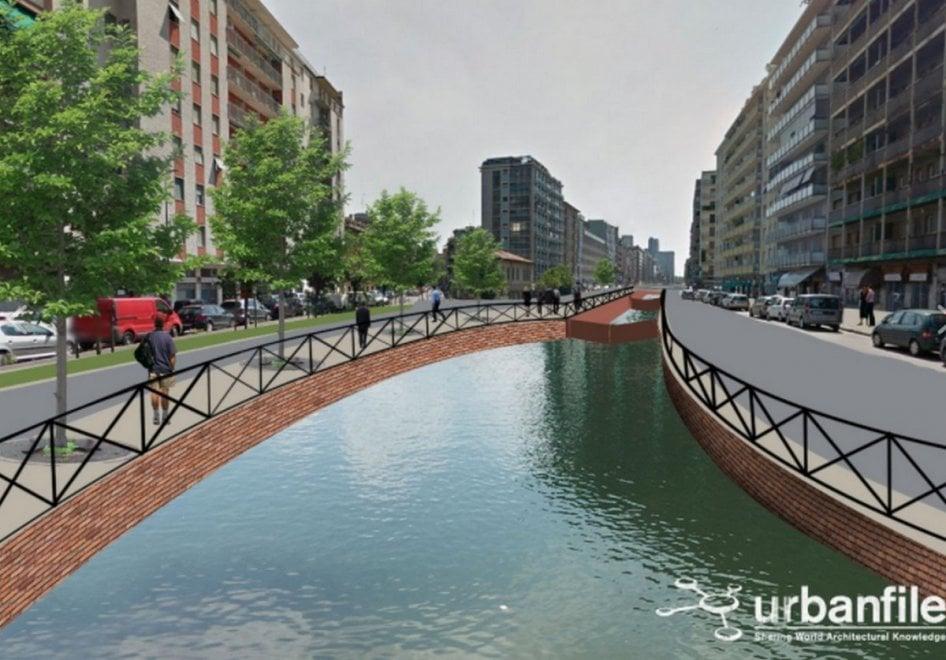 Rivoluzione Navigli, come sarebbe Milano con tutti i canali riaperti? L'idea di Urbanfile