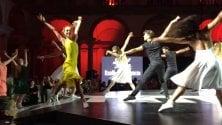 Ballo a Brera sulle note  di 'La La Land', dance floor in PInacoteca