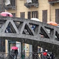Dopo giorni di gran caldo arriva il maltempo: tromba d'aria a Brescia e