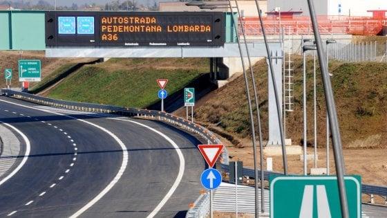 Pedemontana, conti non in ordine e falso in bilancio: i pm di Milano chiedono il fallimento