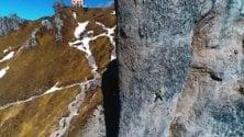 Rock in Lecco, la scalata mozzafiato dei Ragni
