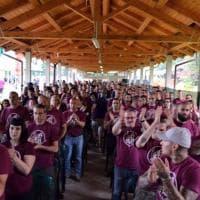 Monza, i militanti di Lealtà Azione alla Festa del Sole
