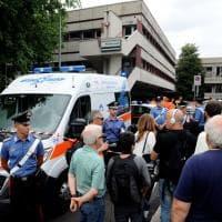 San Donato, omicidio-suicidio al comando dei vigili: il luogo della tragedia