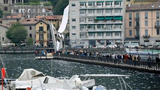 Riapre il lungolago di Como chiuso dal 2008 ma nelle prossime ore c'è il rischio esondazione