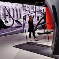 Milano, le curve brusche dell'archiscultore Ramous esposte in Triennale
