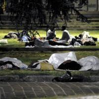 Profughi, a Milano si torna a dormire per strada